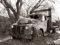 I enjoy photographing old abandoned cars and trucks Its my thing Lol Photo was taken on my Canon D but I saved it to my phone and shared here