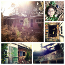 I explored the abandoned Tabors Inn motel in Huntersville NC this weekend