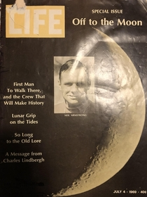 I found an original copy of the  issue of LIFE Magazine at a thrift store for  I was unsure of the condition of the inside pages as it was in a frame but happy to say its near mint Other than the fading and damage on the cover of course Not too bad for a