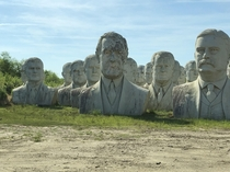 I found the leftovers from Presidents Park today