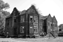 I got to explore the grounds of Pennhurst State School here in PA and I fell in love Shooting here was wild