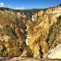 I guess this is why they call it Yellowstone
