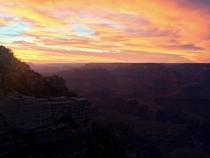 I had this unforgettable sunset on my first visit to the Grand Canyon