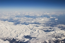 I hate flying but this view of The Alps made up for it