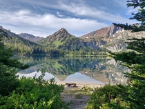 I have always loved backpacking in the Eagle Cap Wilderness Oregons largest wilderness area Aneroid Lake