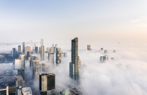 I have been chasing fog in Toronto for the past  years this weekends conditions might be the best Ive ever seen