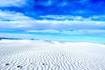 I have been exploring Americas hidden gems lately This one is taken in White Sands National Monument New Mexico