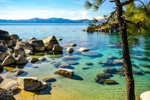 I hear we are doing Lake Tahoe today Here is Secret Cove on the Nevada-side of the lake