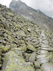 I heard you guys were into Mt Doom paths I present to you the Tatra mountains