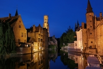I know a popular spotshot but Bruges just after dusk