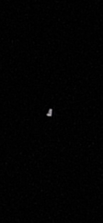 I know its a pretty rough photo but I captured one of the starlink satellites