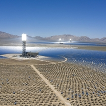 I know the tech is already dated but solar thermal is still badazz from yesterday Ivanpah solar generation facility CaliNevada border
