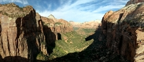 I know Zion gets posted a lot but Zion national park canyon overlook
