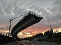 I- lightrail extension at sunset xpost rSeattleWA