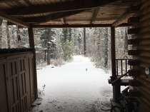 I live at ft elevation in NM and this is my driveway after a night of snowing