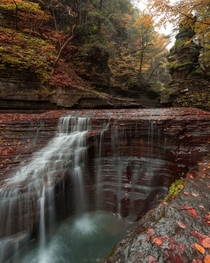 I love how autumn colors complement the landscapes of Ithaca New York