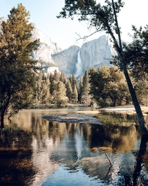 I love natural framing and Yosemite makes it so easy Probably my favorite hideaway spot in the valley