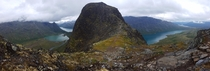 I love summer vacation This is from last days trip to the top of Knutsh Norway Panorama