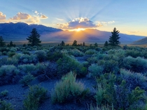 I love the Eastern Sierra Its where heaven stops and the earth begins