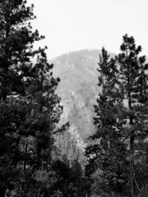 I love this black and white photo of Yosemite I took inspired by the legendary Ansel Adams