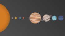I made a K wallpaper of our solar system
