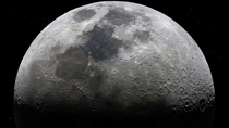 I made a massive k picture of the moon last week Try zooming in on the craters