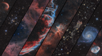 I made an K wallpaper of some of my favorite Deep Sky Objects Ive photographed throughout  This image represents over  hours of long exposure
