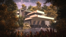 I made Frank Lloyd Wrights Fallingwater House in Far Cry