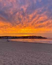 I made it to my first sunrise at Bondi Beach this morning It did not disappoint The colours are real no editing of them needed