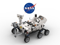 I made this LEGO Perseverance Mars Rover to celebrate its successful launch more images in comments
