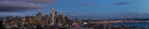 I nabbed my first panorama whilst passing through Seattle WA