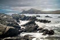 I nearly fell in the sea when I took this long exposure - Shetland  Northern most island in the UK  -  x