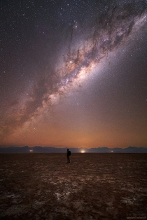 I photographed the Milky Way from the Atacama Desert in Chile where thousands of stars are visible to the naked eye