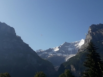 I picture from Grindelwald in Switzerland this summer