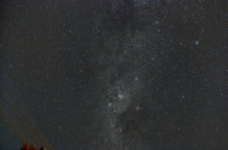 I pointed my camera at the Milky Way for just a total of  minutes and managed to capture numerous dustlanes clusters and nebulae