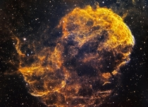 I pointed my telescope at the Jellyfish Nebula for  hours to capture this