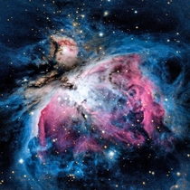 I re-edited my  minute exposure of the Orion Nebula - M