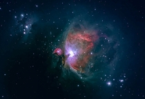 I re processed the data from my first Orion photo and added a little extra color for contrast