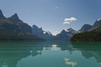 I saw your Emerald-colored water of Maligne Lake in Jasper National Park Alberta Canada - Heres mine