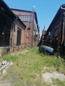 I see your abandoned truck and raise this abandoned boat Gdask Shipyard