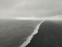 I see your beautiful gloomy day and raise you mine Dyrhlaey Iceland