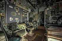 I snuck into a naval base to document this abandoned submarine