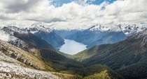 I spent two months last year backpacking through New Zealand This is what a typical day looked like Fiordland National Park South Island