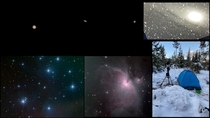I started astrophotography in July of  and these are the only images I managed to capture plus the observatory that took the images