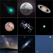 I started seriously pursuing astrophotography about two years ago heres my top shots of