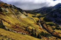 I still cant believe this is real place Goat Rocks Wilderness WA on the Pacific Crest Trail