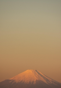 I take a picture of Fuji every time I see it in a new light Have an early morning Fuji