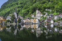 I think it is one of the most beautiful places in Europe - Hallstatt Austria
