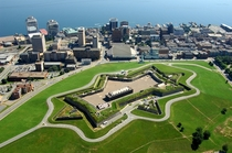 I thought if were doing star forts than my citys deserves some love- The Halifax Citadel