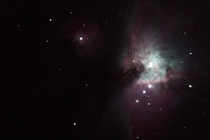 I thought my new equipment did pretty well tonight Orion Nebula